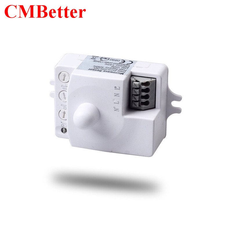 Newest Mini Sensor RF induction microwave sensor induction switch motion sensor switch radar sensor 220v 1200w naillook nice bijoux 30665 30665