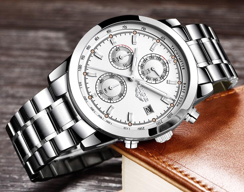 HTB14paMolfH8KJjy1Xbq6zLdXXaV - LIGE Mens Watches Top Brand Luxury Business Quartz Watch stainless steel Strap Casual Waterproof Sport Watch Relogio Masculino