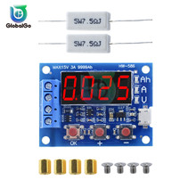 HW-586 1.2v 12v 18650 Li-ion Lithium Battery Capacity Tester Resistance Lead-acid Battery Capacity Meter Discharge Tester цена в Москве и Питере