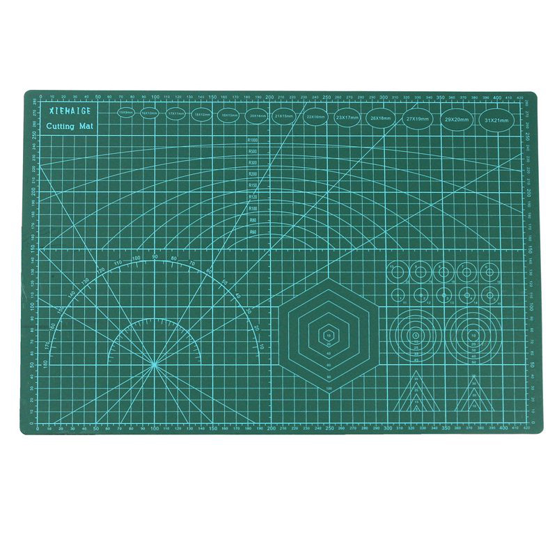 A3 PVC Self Healing Cutting Mat Fabric Leather Paper Craft DIY Tools Double-sided Healing Cutting Board