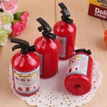 Extintor de incêndio Em Forma de Apontador de Lápis Apontador de Lápis Criativo Crianças Prêmio 50 pçs/lote