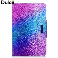 DULCII Pattern Printing Smart PU Leather Protection Case For Samsung Galaxy Tab E 9 6 T560