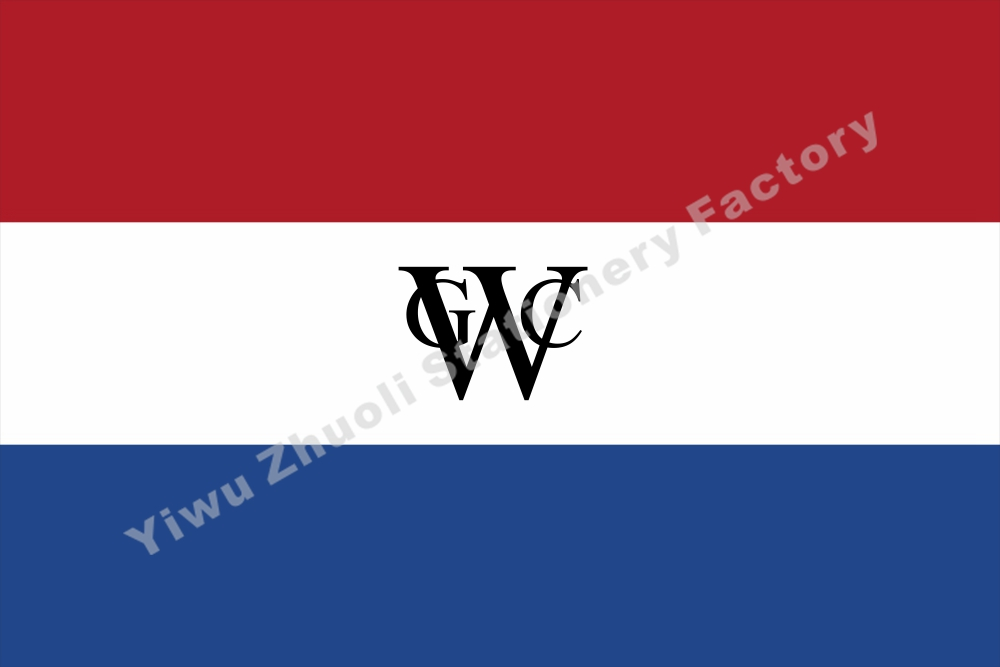 Netherlands West Indies Company A Flag 150X90cm 3x5FT 120g 100D Polyester Double Stitched High Quality Banner Free Shipping In Flags