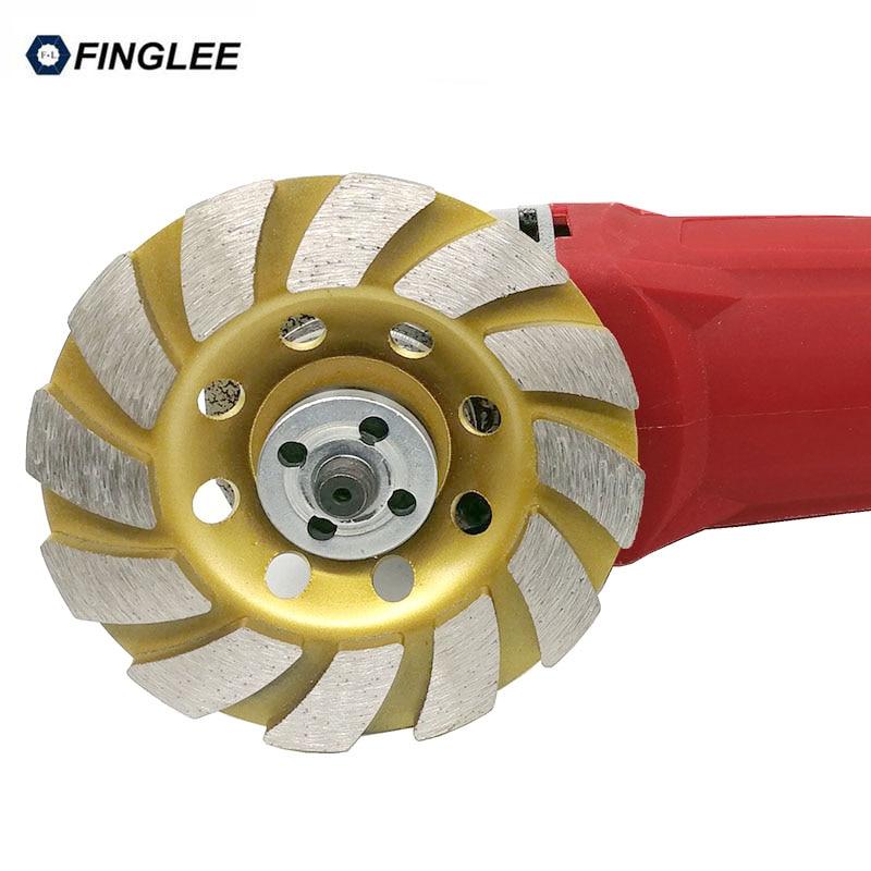 4inch/100mm Diamond Wheel Disc Bowl Grinding Cup Concrete Granite Marble Stone Polishing Pads Masonry Tools