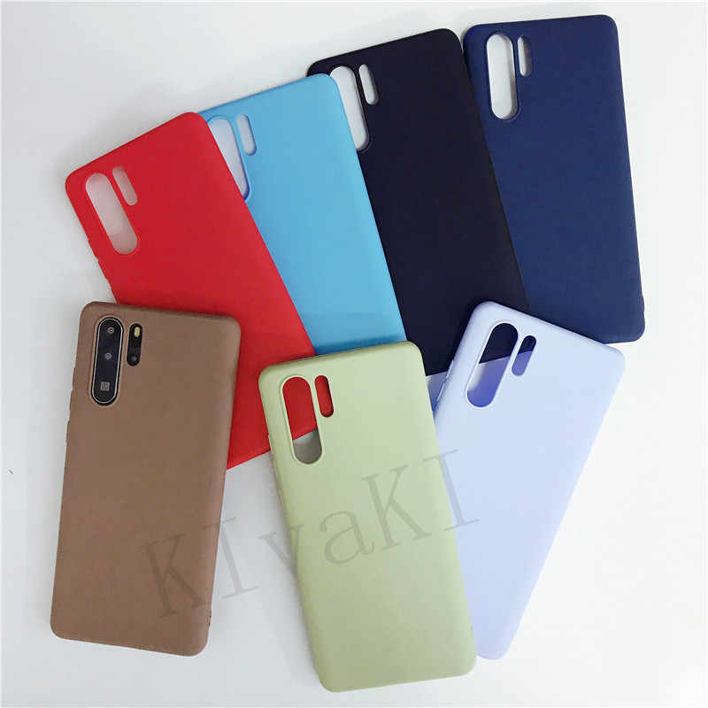 Candy Color Phone Case For Huawei Honor 8X Mate 20 Pro Mate 10 P20 Lite P Smart Plus Nova 3i 3 4 P30 Cover Soft Silicon Cases