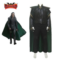 Thor Cosplay costume Thor 3 Ragnarok Loki Cosplay Costume superhero outfit Halloween Carnival Cosplay Costume For Men