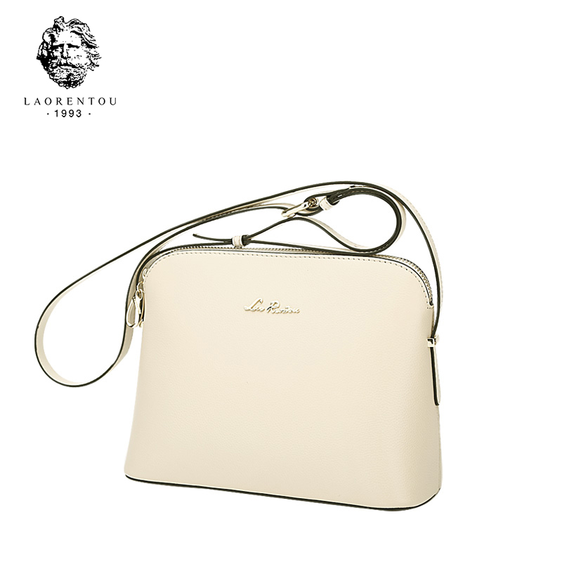 LAORENTOU 100 Genuine Leather Messenger Bags For Women Bag Fashion Women Crossbody Bag Ladies Luxury Design