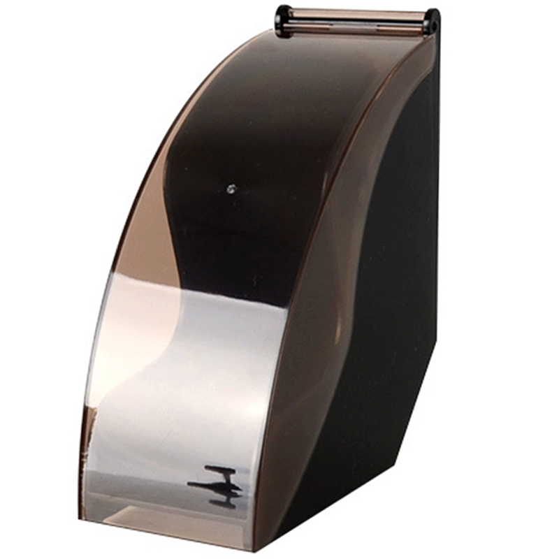 V60 Filtro de Papel Titular/Cônico Filtro Caixa de Papel Suporte De Rack De Armazenamento De Ferramentas De Café De Papel De Filtragem de Poeira-Prova Com Tampa