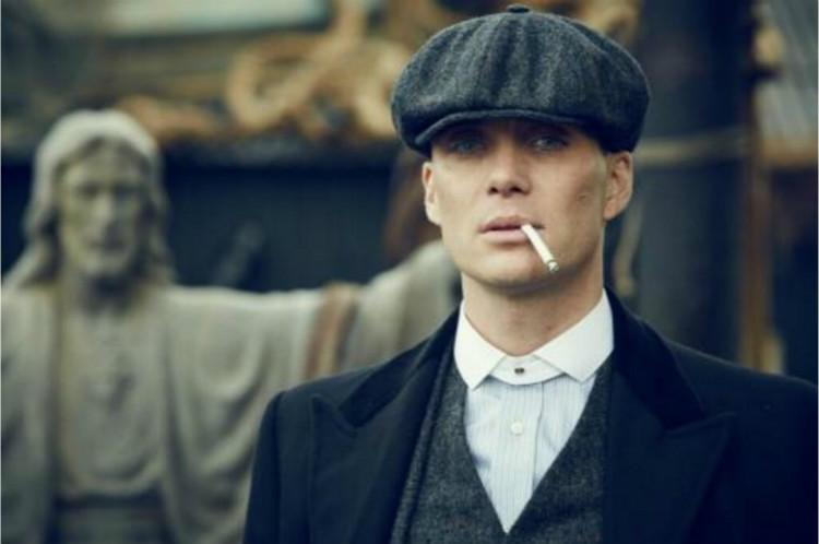 Homens boina Espinha de peixe do vintage Tweed Gatsby peaky blinders ... 1fb556701da