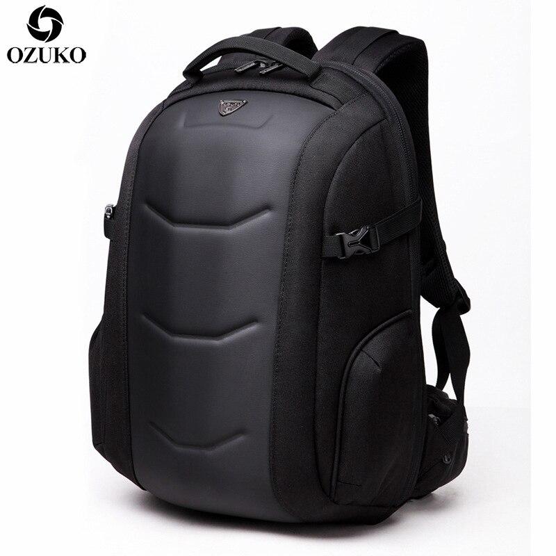 2019 OZUKO mode ordinateurs portables d'entreprise sac à dos hommes multifonction étanche Oxford voyage sac à dos décontracté sac d'école pour adolescent