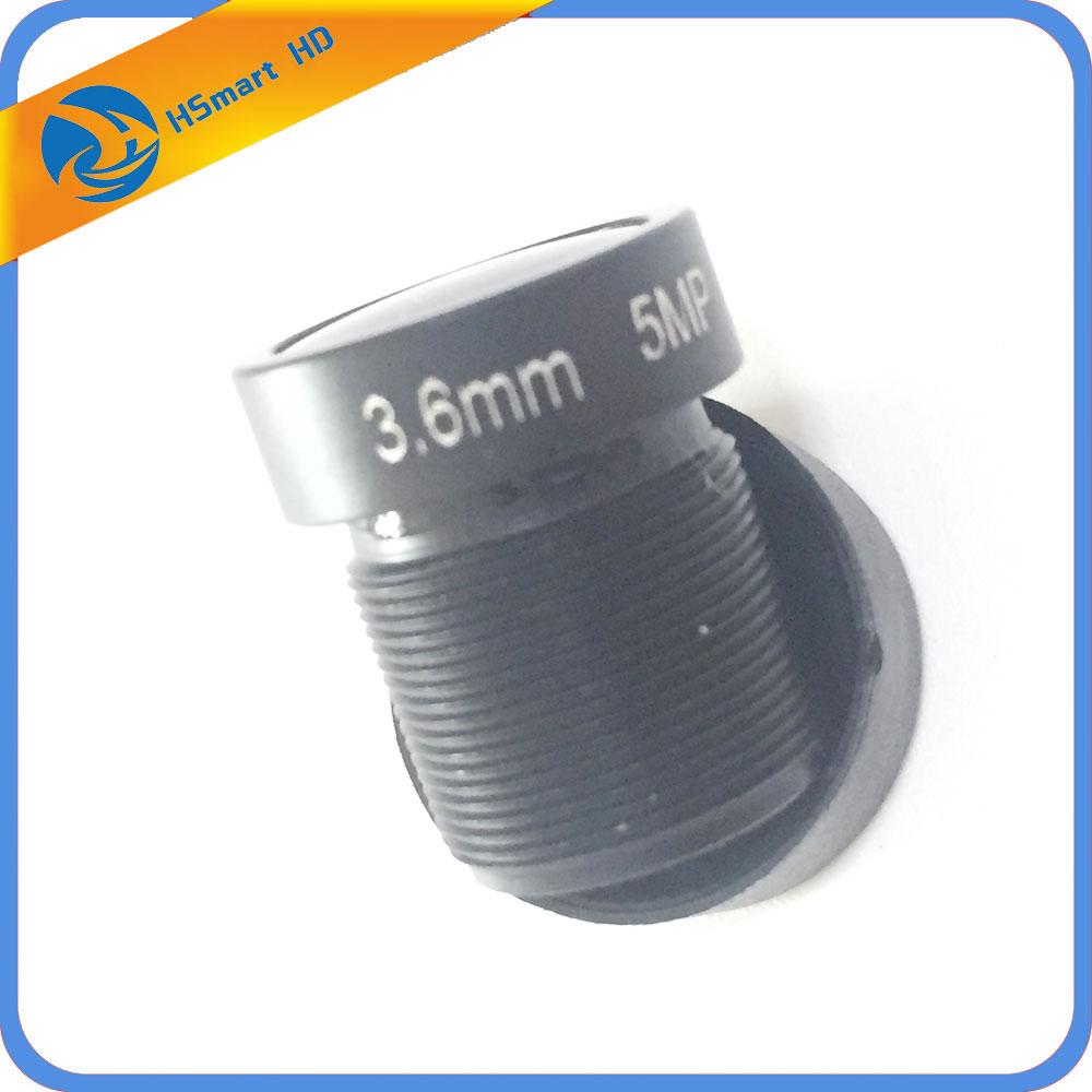 HD 5.0mp 3.6mm Lens 1/2.5