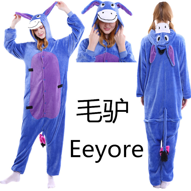 Clothing, Shoes & Accessories Boys' Clothing (sizes 4 & Up) Loyal Blue Stich Unisex Adult Pajamas Kigurumi Cosplay Costume Animal Sleepwear Delicious In Taste