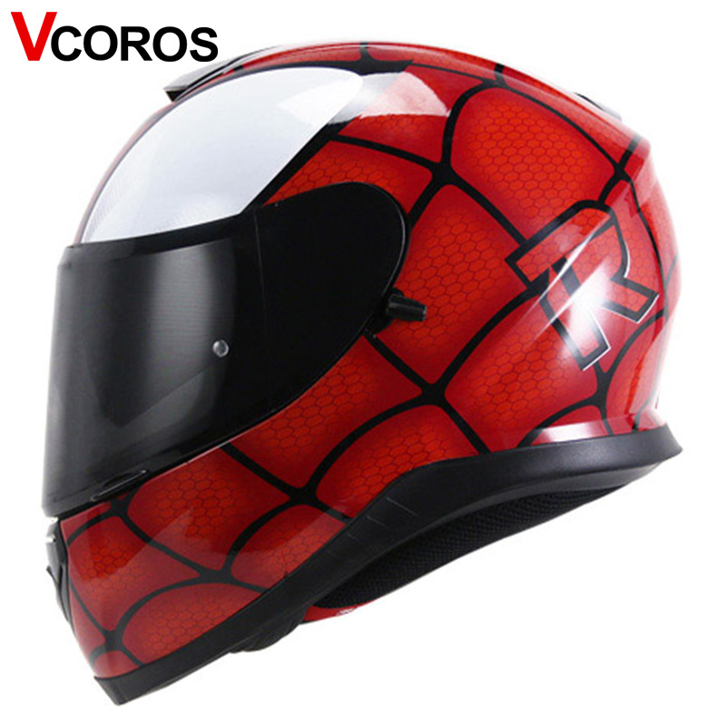 Vcoror full face motorcycle helmet YOHE with inner sun black shield motorbike helmet YH  ...
