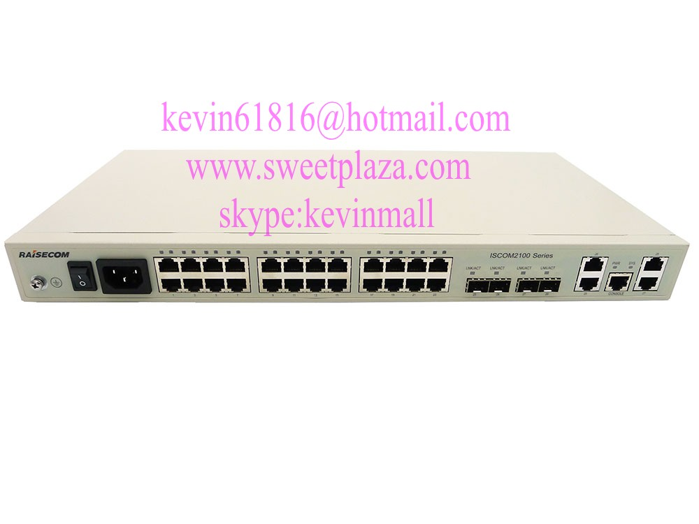 Raisecom 24ports ethenet switch ISCOM2126EA-MA-AC