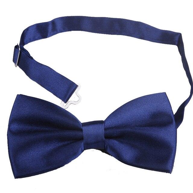 Classic Fashion Novelty Mens Adjustable Tuxedo Bow Tie Necktie Bowtieformal formal necktie boy business wedding Male Dress Shirt 2