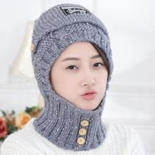SUOGRY 2018 Womens Hats Winter Beanies Warm Mask Neck Protection Cap Hat Beanie Caps Knitted Sport Skullies
