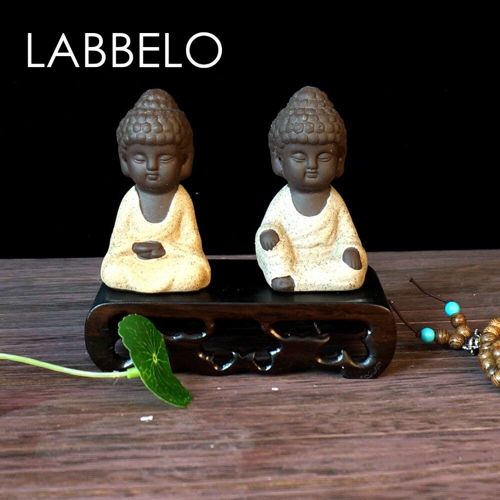 labbelo κεραμικά Βούδα άγαλμα μοναχός - Διακόσμηση σπιτιού - Φωτογραφία 3