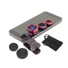 Fisheye Lens 3 In 1 Mobile Phone