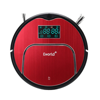 Eworld M883 Vacuum Cleaner Smart Sweeping Rechargeable Robot Vacuum Cleaner Remote Controlled Automatic Dust Home Cleaner
