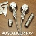 Original auglamour rx-1 auriculares full metal auriculares de aislamiento de ruido de alta fidelidad para un teléfono móvil para el iphone xiaomi mp3 mp4