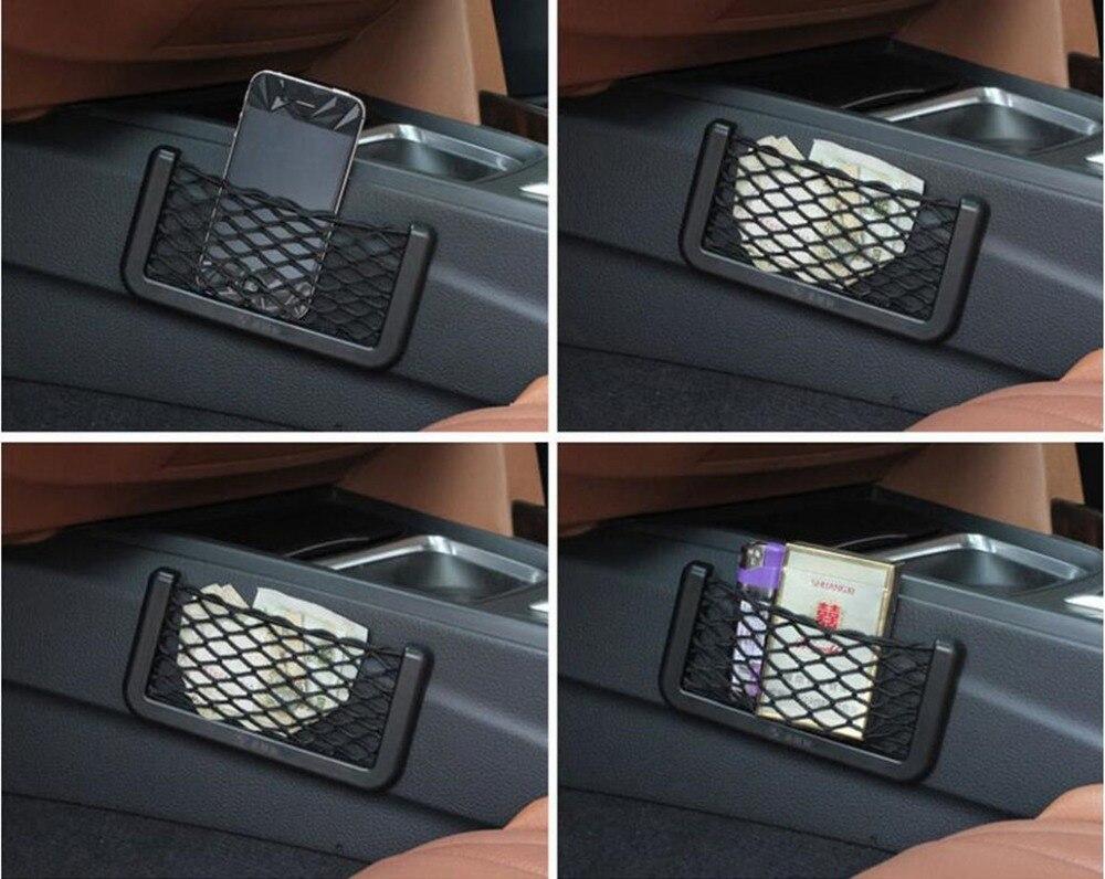 Сторона Автокресло Назад хранения сетка карман для AUDI S линии A4 A3 A6 C5 Q7 A1 A5 TT a8 Q3 A7 R8 RS B6 B7 B8 S3 автомобильные аксессуары