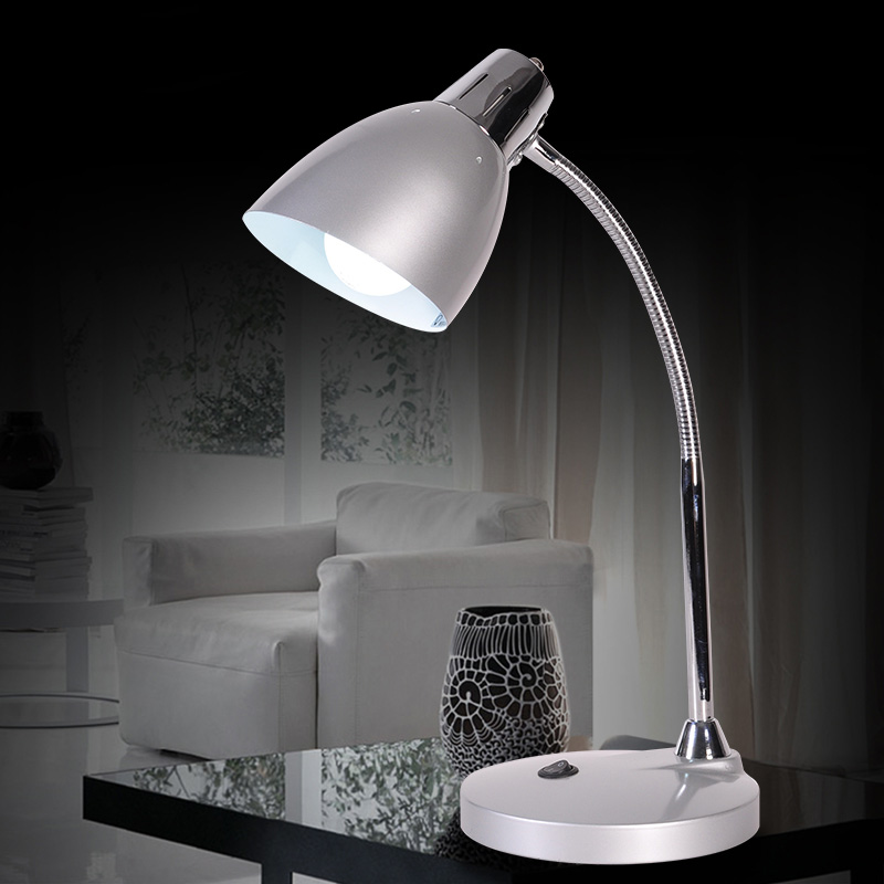 ФОТО Hot Sale 2016 New Modern Alloy Table Lamp Bedroom Desk Lamp lamparas de mesa For Bedroom Students Study Reading Lights 4 Colors