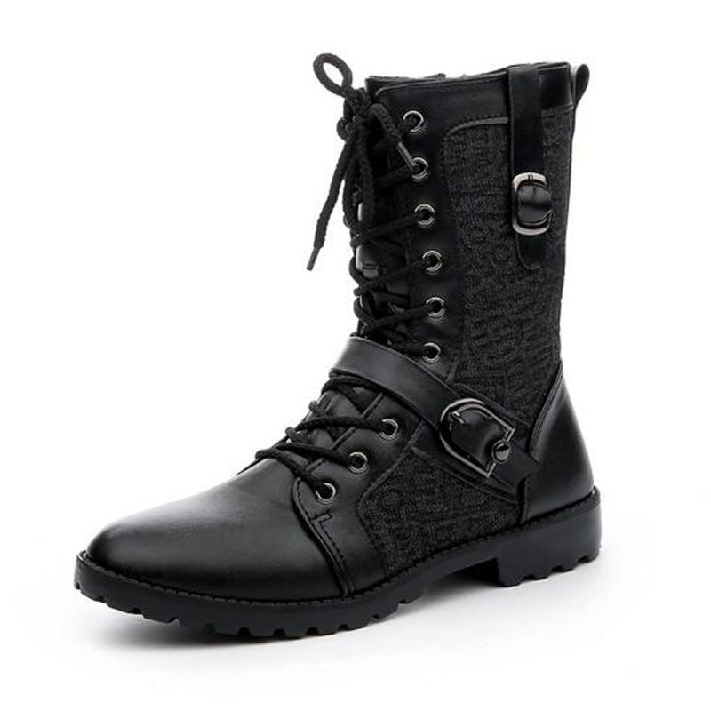 Online Get Cheap Combat Boots Men Fashion -Aliexpress.com ...