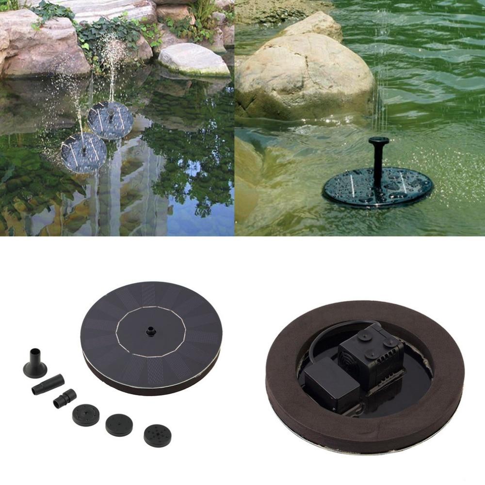 Solaire Fontaine Pompe à Eau Panneau étang de jardin bassin submersible Arrosage Kit