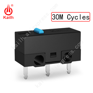 Image 3 - Kailh High life Micro Switch with 10/20/30M Cycle Mechamicroswitch 3PINS SPDT 1P2T Gaming mouse micro switch Mouse button