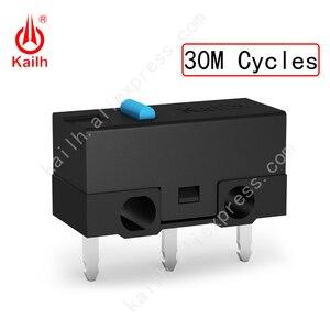 Image 3 - Kailh High life mikro przełącznik z 10/20/30M cykl Mechamicroswitch 3 piny SPDT 1P2T mysz do gier mikro przełącznik przycisk myszy