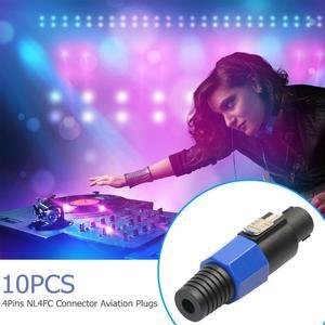 Image 5 - 10 pièces 4 pôles NL4FC 4Pin connecteur prise haut parleur Audio Ohm prise femelle prise livraison directe du fournisseur