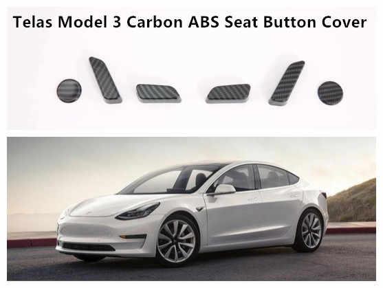 Suitable for Tesla MODEL3 Carbon Fiber Door Sill Welcome
