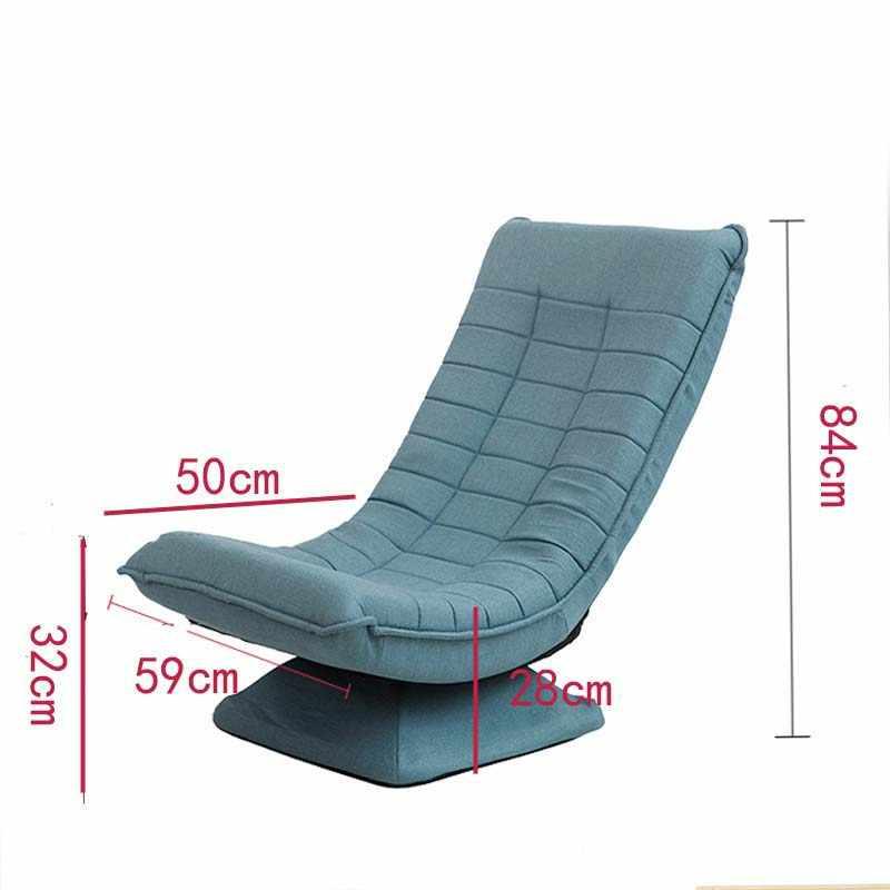 Chpermore נוח עצלן ספה מתקפל Creative סלון ספת פנאי Rotatable טאטאמי יפני מיטת כיסא מחשב כיסא