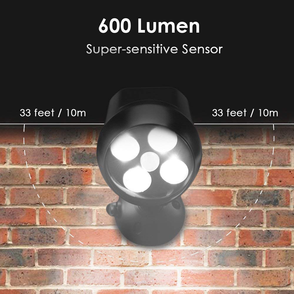 Solar Da Lâmpada LED Sensor de Movimento