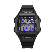 Luxury Watch Men Sport Relogio Masculino Digital Watches Waterproof LED Military Electronic Watches Reloj Digital Hombre Durable(China)
