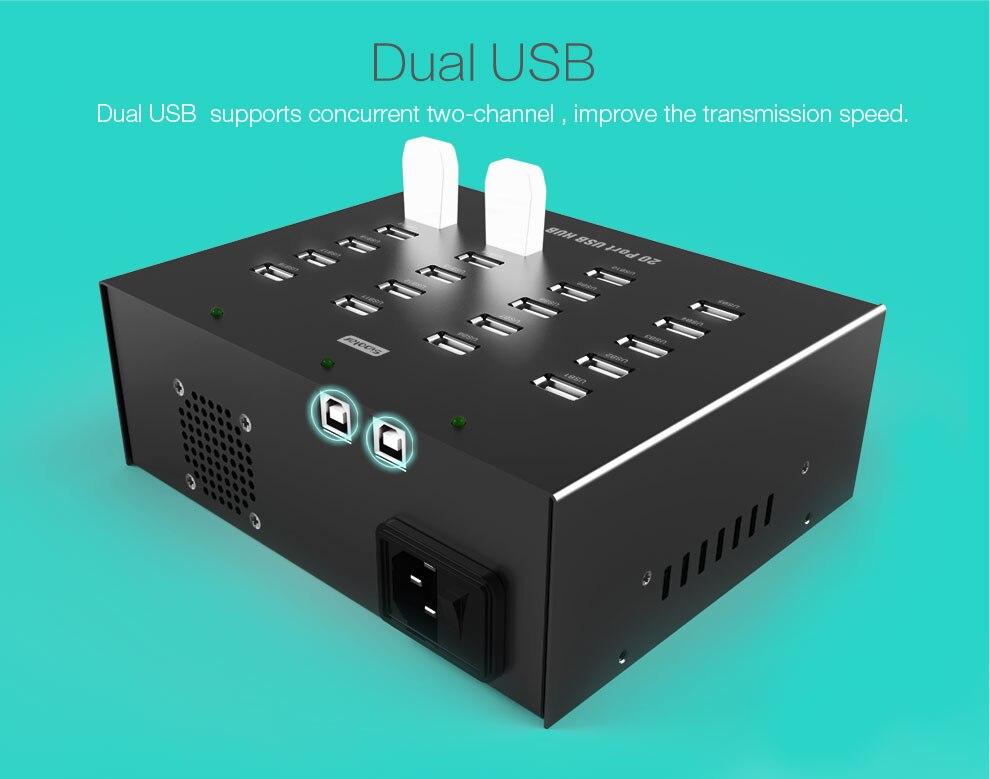 2017 Popular Product Multi Port USB HUB Stable usb 2.0 hub 20 port popular industrial 20 port usb hub buy cheap 20 port usb hub desktop cellphone refurbishment