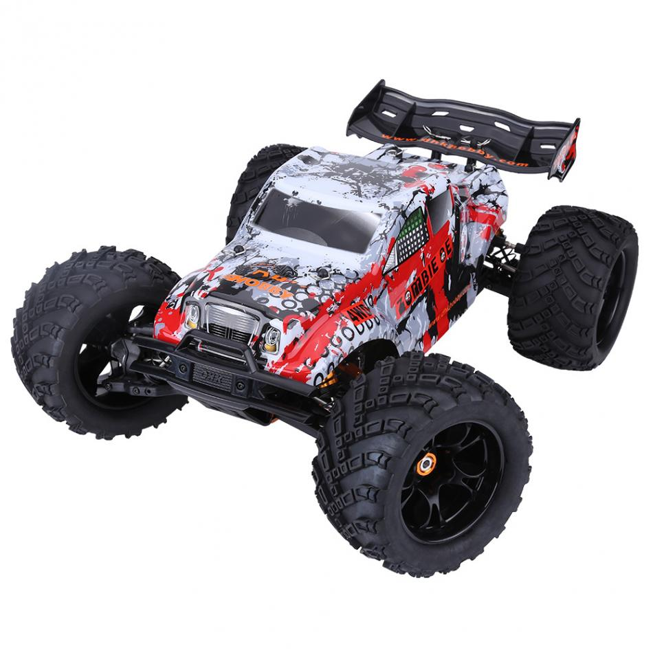 2.4GHz RC Vehicle Resistant Wheels with Anti-skid Surface 1:8 RC Model Toy Remote Control Four-Wheel Drive 70KM/ H Car