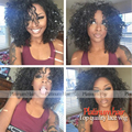Fast Shipping High Quality Black Hair Synthetic Lace Front Wig Afro Kinky Curly Wigs With Baby Hair For Black Women