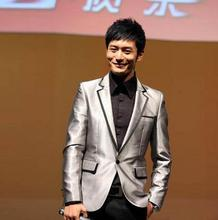 New arrival designer Star style paragraph Korean men's silver suit singers emcee host clothing costumes male terno masculino