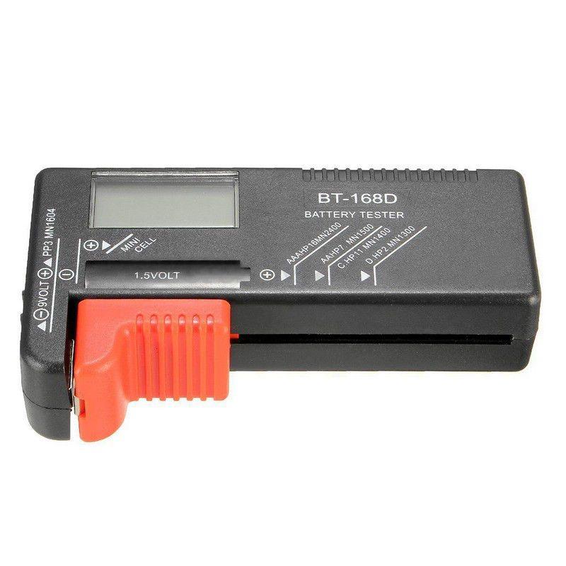 Universal BT168D Smart LCD Digital Battery Tester Electronic Battery Power Measure Checker for 9V 1.5V AA AAA Cell Battery Meter (7)
