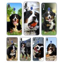 Silicone Phone Case Fashion Bernese Mountain Dog for Samsung Galaxy Note 8 9 M30 M20 M10 S10 S9 S8 Plus Lite S6 S7 Edge Cover