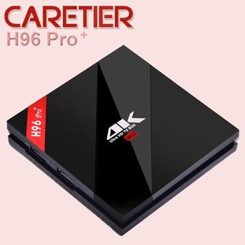 3PCS H96 Pro TV Box 3GB 32GB Gigabit Ethernet Android 6.0 Smart Set top Box Amlogic S912 Octa Core  Wifi Video player B4.1