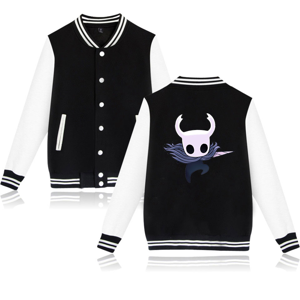 Dependable Hollow Knight Fashion Printed Baseball Jackets Women/men Long Sleeve Jackets 2019 Hot Sale Casual Trendy Streetwear Clothes Suitable For Men And Children Women
