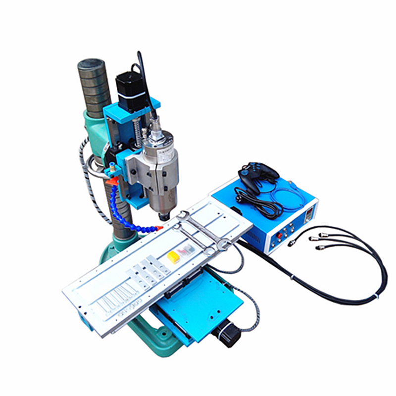 Vertical CNC Metal Milling Machine USB / Parallel port 1.5KW CNC 3040 Router Linear Guide Rail Engraving Machine cnc router wood milling machine cnc 3040z vfd800w 3axis usb for wood working with ball screw