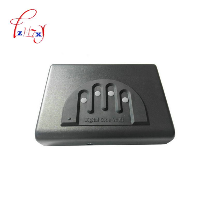 Protable Password Safe Box Solid Steel Security Combination Lock Key Gun Money Valuables Jewelry Box Security StrongboxProtable Password Safe Box Solid Steel Security Combination Lock Key Gun Money Valuables Jewelry Box Security Strongbox