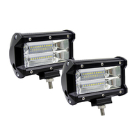 Led Light Bar 72W 5 5Inch Spot Beam 6000K 12V Led Bar LED Work Light Bars