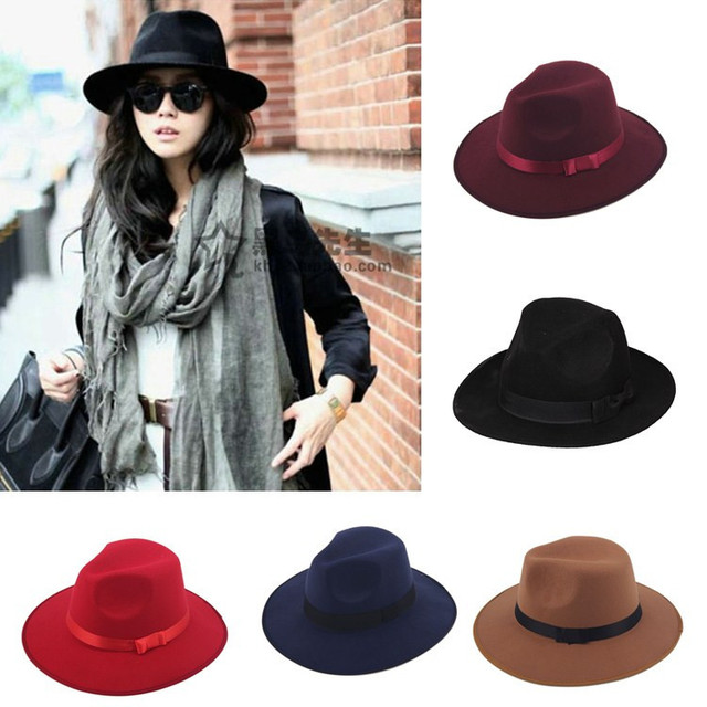 Unisex Spanish style Vintage Jazz Hat Women Men Casual Trendy Beach Sun  Panama cap Cowboy Fedora Gangster Cap 4e0a4bf7948