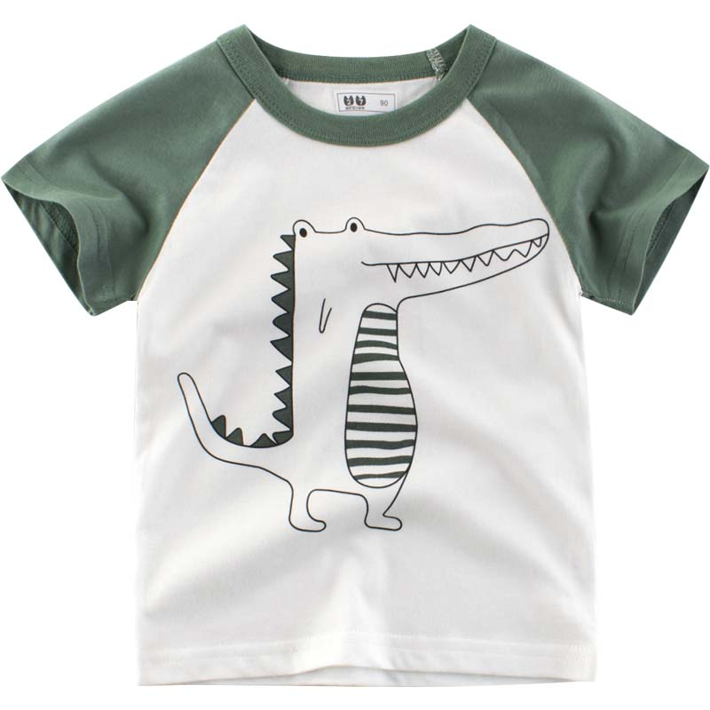 t-shirt for kids boy <font><b>tshirt</b></font> <font><b>baby</b></font> boy <font><b>tshirt</b></font> kids boys tops crocodile the <font><b>animals</b></font> tees children clothes kids basics tee summer image