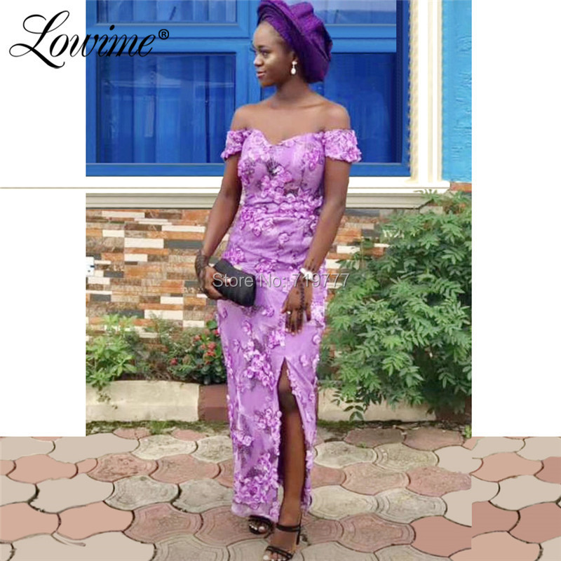 African Women   Evening     Dress   Ankle Length Off Shoulder Party   Dresses   Robe De Soiree Turkish Dubai Arabic Formal Gowns Prom   Dress