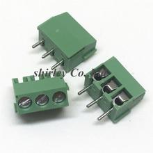 50 шт. KF350-3.5 3 P KF350 3Pin 3,5 мм Прямые Pin PCB винтовой Устройство для сращивания кабелей